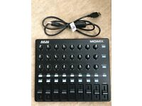 AKAI Professional MIDIMIX Fully-Assignable USB MIDI Controller and Mixer. Like NEW.