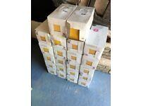 Utopia Yellow Glazed Ceramic Wall tiles