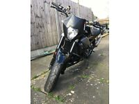 Aprilia RS 125 Streetfighter unfinished project