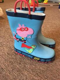George wellies brand new size 9
