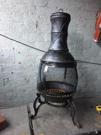 Cast iron chimenea / patio heater new never been used £25