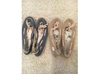Fat Face flats - FREE POSTAGE
