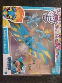My little pony guardians of harmony spitfire and soaring