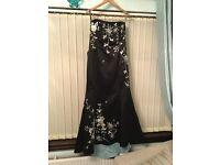 Women's evening dress/prom/wedding/ballgown - fishtail style - size 16