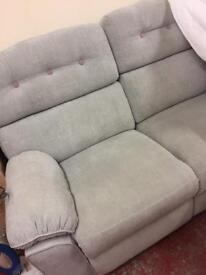 Recliner two seater
