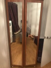 1x double wardrobe & 2x single wardrobes