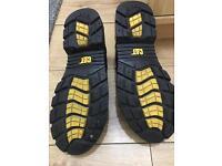 Men's cat steel toe boots