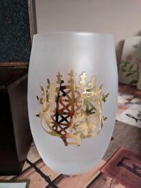 Pasabahce Magazalari Solar Disk Glass Vase