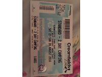 One creamfields 2 day camping ticket (Saturday and Sunday)