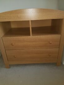 Mothercare drawers with changing station