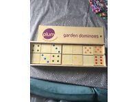 Large garden dominos