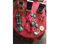 Selection of ladies costume jewellery in excellent condition