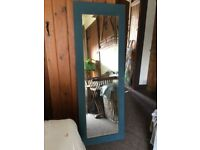 Full length french farmhouse mirror price dropped