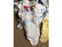 Large newborn boy clothes bundle!