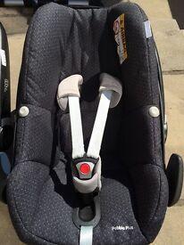 Maxi cosi pebble plus car seat