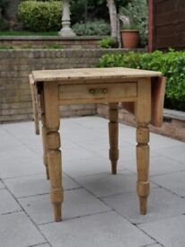 Shabby Chic, rustic, wood table.
