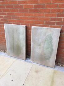 3x concrete council slabs. 900x600