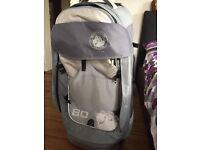 Numinous GlobePacs 80L wheeled luggage