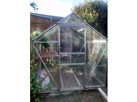 6x6 Greenhouse/100% intact/Dismantled/Can deliver