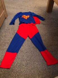 Superman costume age 3-4