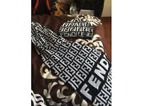 Fendi scarf set not Gucci