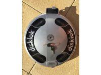 Disklok Steering Wheel Lock (small up to 39cm diameter)