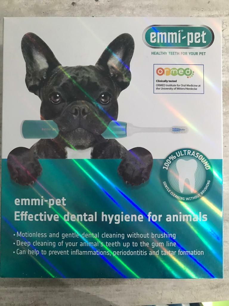 Emmi-pet Ultrasonic Toothbrush for Pets   in Banbridge, County Down    Gumtree