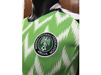 NIGERIA Football NAtional jersey 2018 (with your name and number)