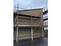 External Insulation Roughcasting and plastering