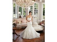 DESIGNER SOPHIA TOLLI IVORY WEDDING DRESS / BRIDAL GOWN RRP£1395.00