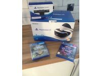 Playstation VR headset , camera and motion plus