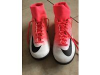 Nike Astro Turf Football Boots. Size 6.