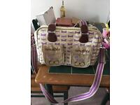 Pink Lining Mama et Bebe changing bag