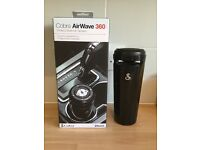 ***COBRA AIRWAVE 360 WIRELESS BLUETOOTH SPEAKER*** NEVER USED STILL IN ORIGINAL BOX***