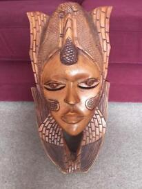 Heavy, quality ethnic carving from Lagos