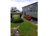 CARAVAN HIRE / RENTAL AT STUNNING MANOBIER BAY COUNTRY PARK TENBY. Book now for the summer!.