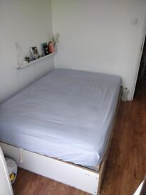 FREE Ikea Double Ottoman Bed in great condition