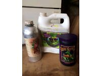Hydrophonic liquids used Roots excelurator big buds beastie bloom