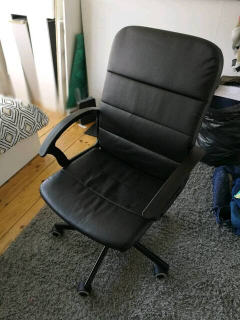Awe Inspiring Ikea Desk Chair Like New With Instructions In Richmond London Gumtree Andrewgaddart Wooden Chair Designs For Living Room Andrewgaddartcom