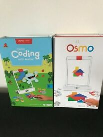 OSMO GAME FOR I PAD AND CODING