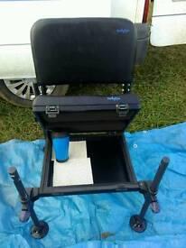 Pole fishing seat