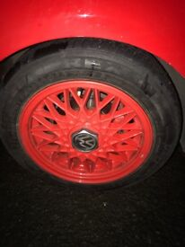 Genuine BBS e30 sport BMW wheels 4x100 fit lupo perfect