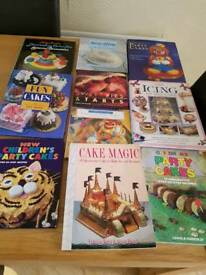 Cake making books