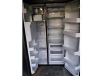 Admiral American fridge freezer.