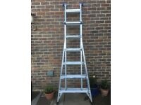 WERNER TELESCOPIC COMBI LADDER 4 x 6 Professional Grade