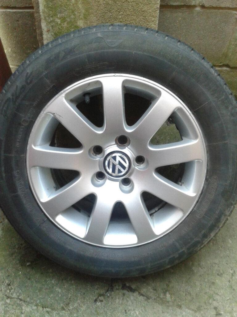 vw alloy wheels 15s