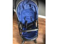 Oyster 2 pram with Navy blue pack