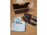 Brand new Toms shoes for sale