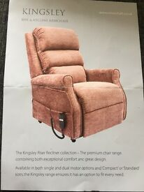 Kingsley Rise and Recline Armchair