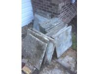 600x600mm slabs concrete